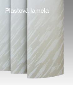 Plastová lamela