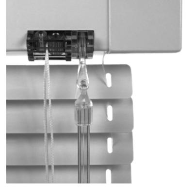 ISOLINE ECO: Ovládání TYP1 - šnek + plastové táhlo