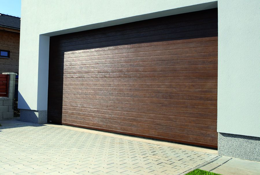 Garážová vrata design lamela